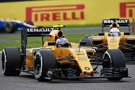 Renault driver battle 'tense' - Palmer