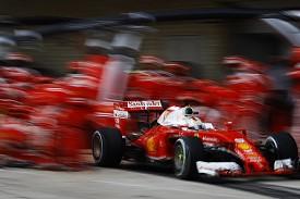 Vettel can't excuse Ferrari's 2016 form